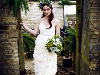 Contemporary Bridal Skirt by River Elliot Bridal