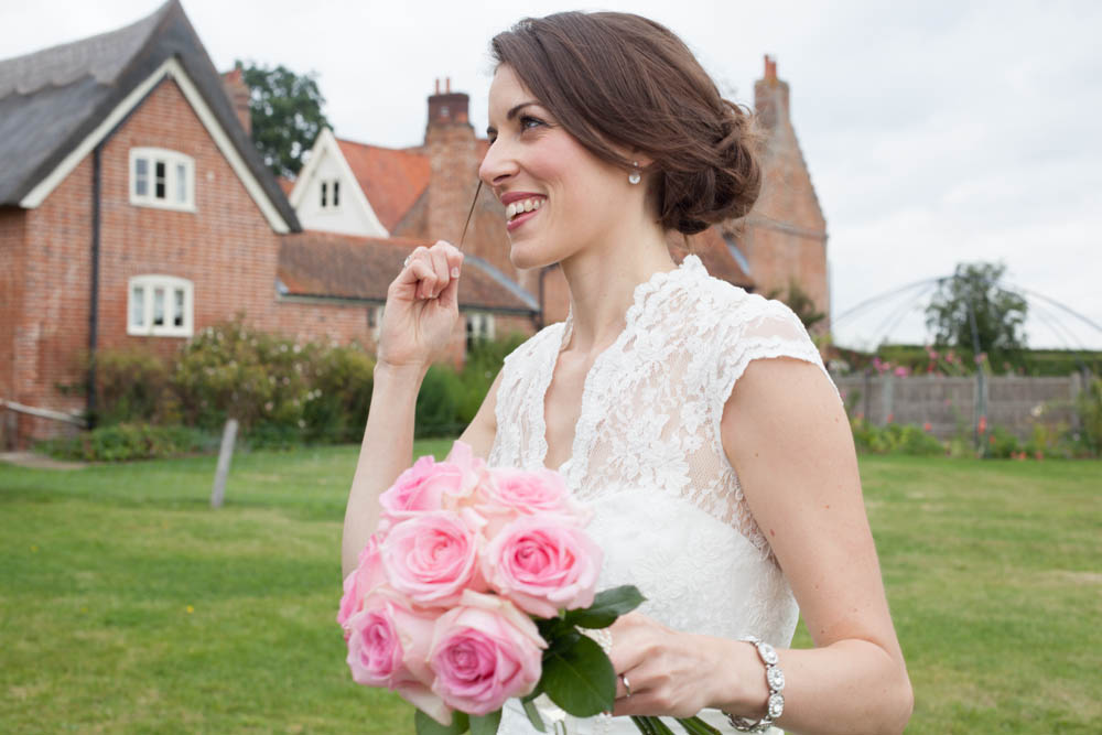 Corded Lace Wedding Dress by River Elliot Bridal