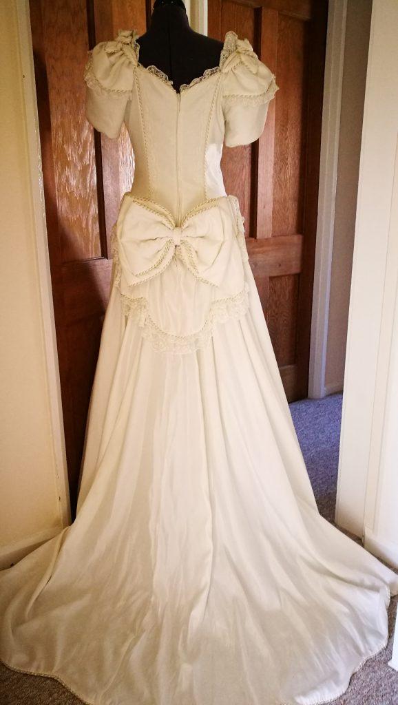 River Elliot Bridal Wedding Dress Refashion