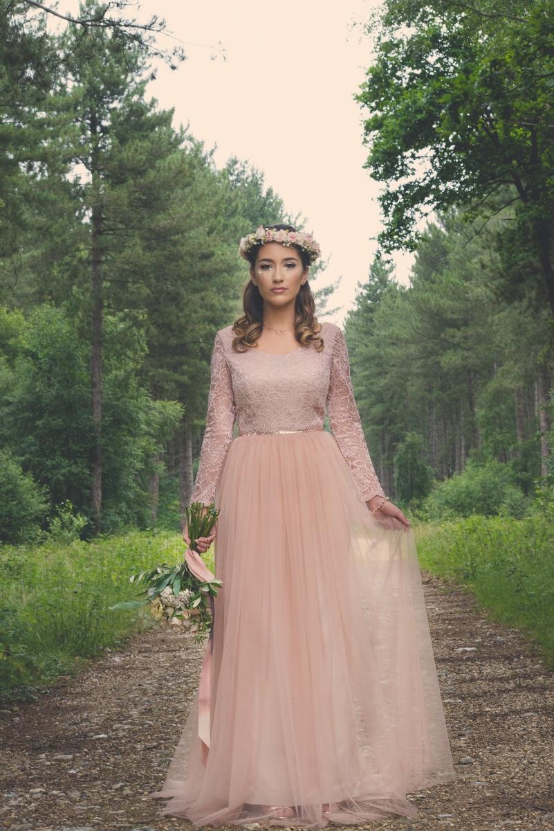 River Elliot Bridal Custom Made Prom Dress