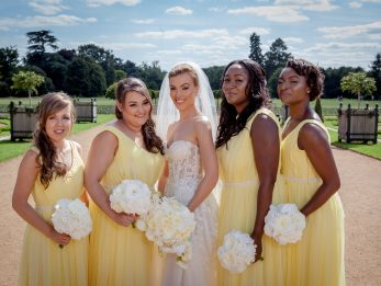 Bridesmaids dresses custom made by River Elliot Bridal
