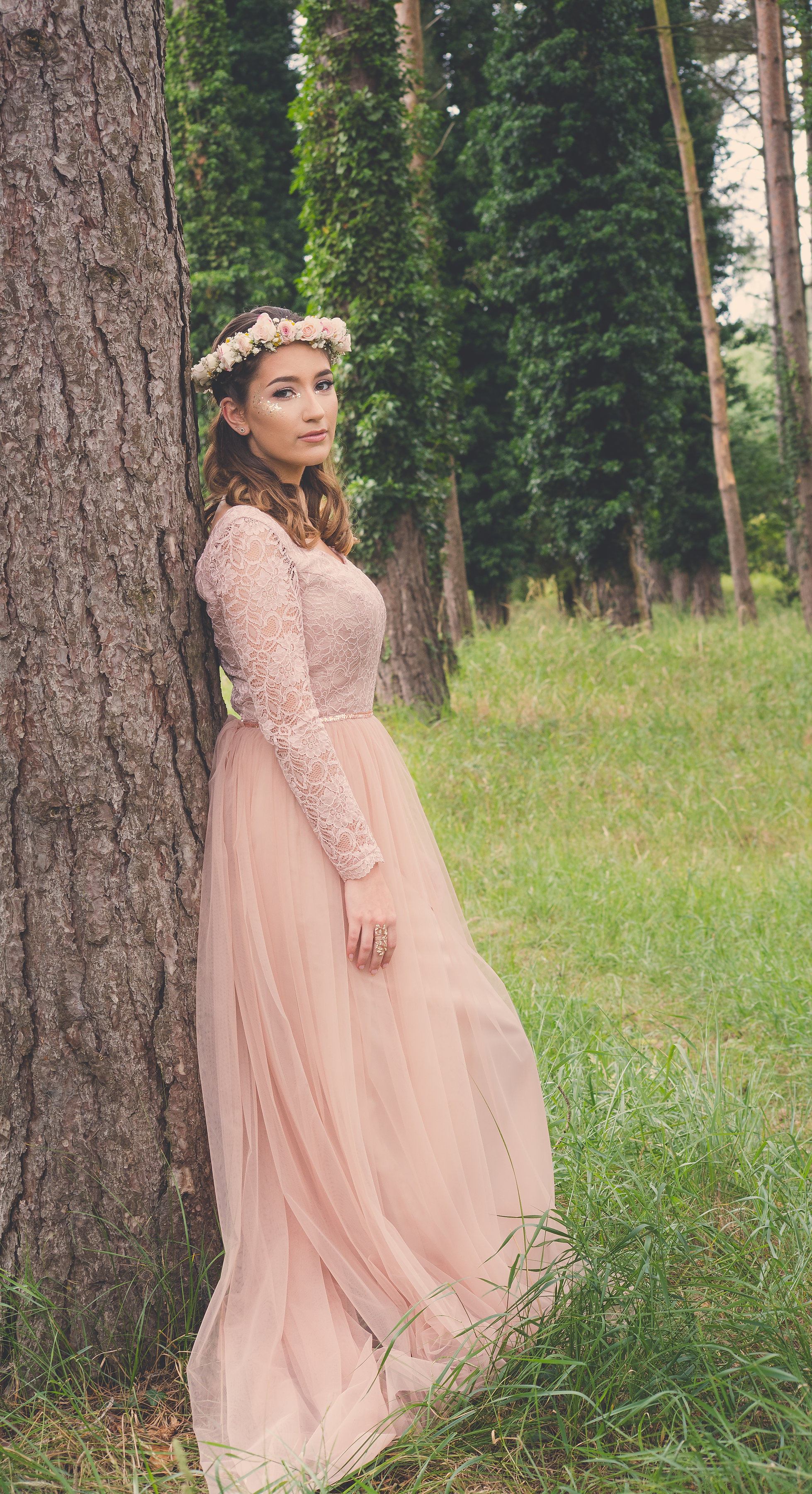 Blush Pink Wedding Dress by River Elliot Bridal