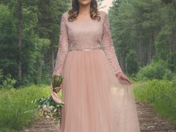 River Elliot Bridal Blush Pink Esme Dress