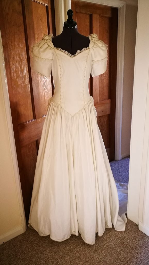 River Elliot Bridal Wedding Dress Refashion