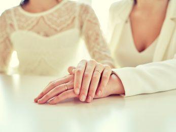River Elliot Bridal LGBTQ Wedding