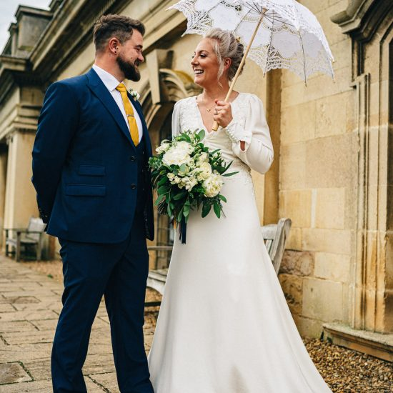 Custom made wedding dress made in Cambridge