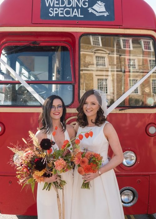 Gorgeous brides married in Cambridge