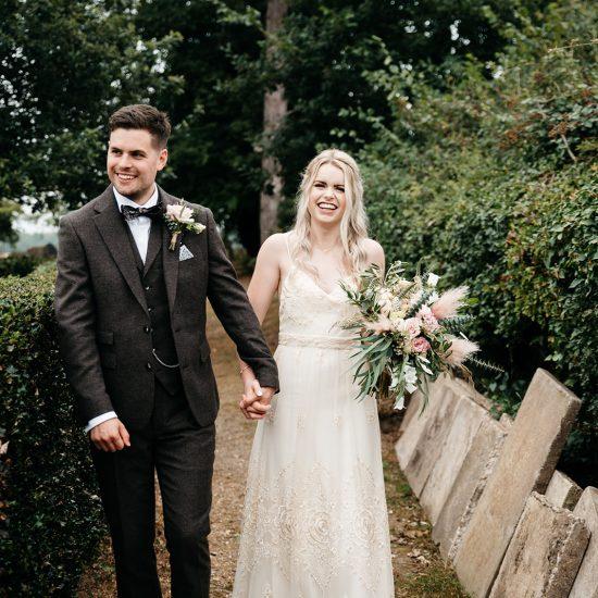 Upcycled vintage wedding dress River Elliot Bridal